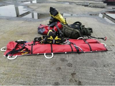 Семинар по эвакуации пострадавшего в стесненных условиях